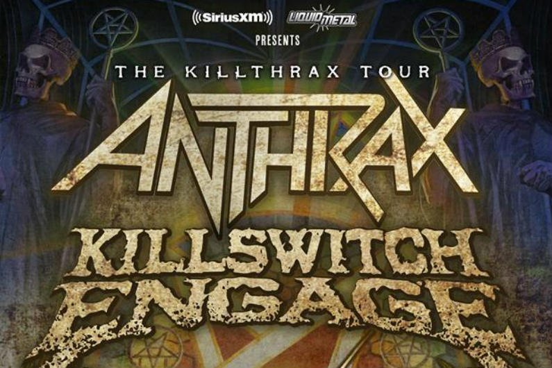image for article Anthrax and Killswitch Engage Plan 2018 'Killthrax Tour II' Dates: Ticket Presale Code & On-Sale Info