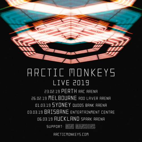 image for event Arctic Monkeys and Mini Mansions