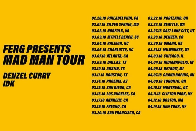 image for article ASAP Ferg Sets 2018 'Mad Man Tour' Dates: Ticket Presale Code & On-Sale Info