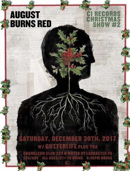 image for event August Burns Red, GutterLIFE, and centerfolds