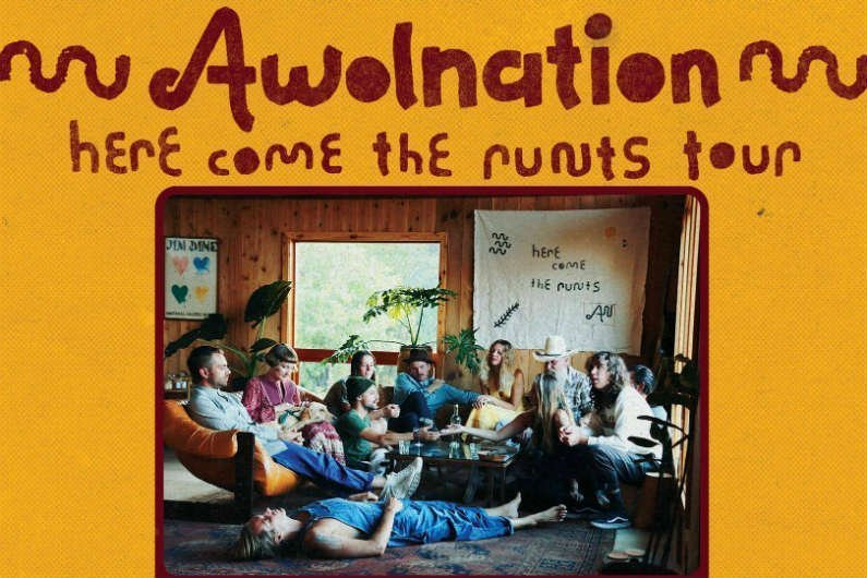 image for article AWOLNATION Set 2018 'Here Come The Runts Tour' Dates: Ticket Presale Code & On-Sale Info
