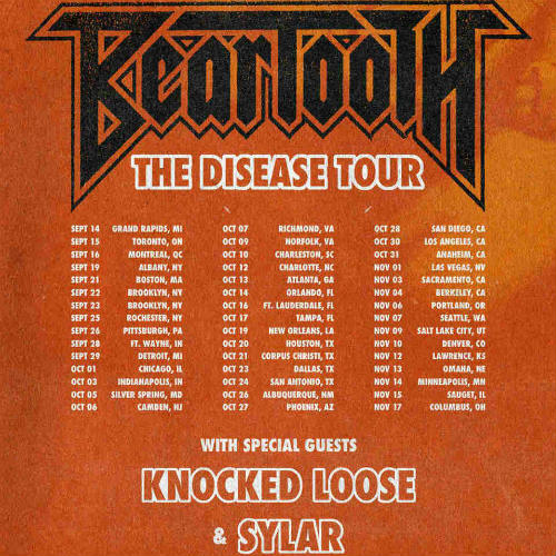 image for article Beartooth Plots 2018 Tour Dates: Ticket Presale Code & On-Sale Info