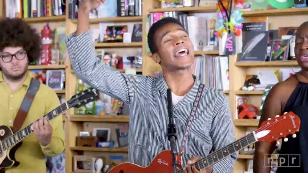 image for article Watch Benjamin Booker's Soulful NPR Tiny Desk Concert Performance [NPR Video]