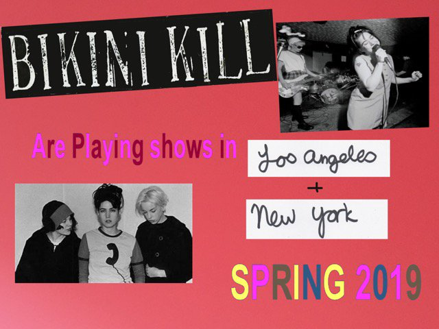 image for article Bikini Kill Reveal 2019 Tour Dates: Ticket On Sale Info