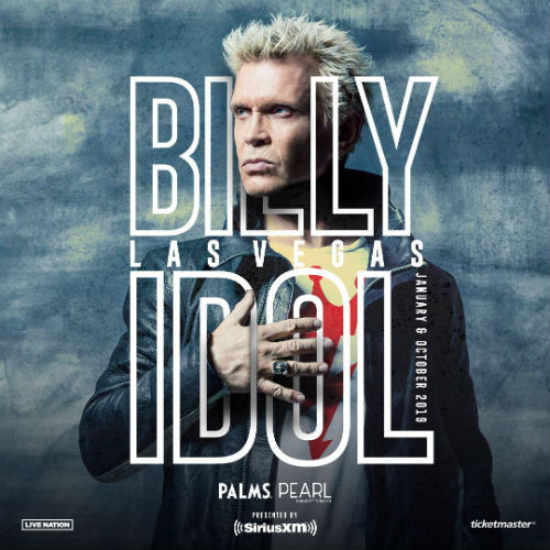 image for article Billy Idol Extends 2018-2019 Tour Dates with Las Vegas Residency: Ticket Presale Code & On-Sale Info