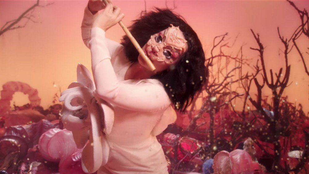 "image for article ""Utopia"" - Björk [YouTube Music Video]"
