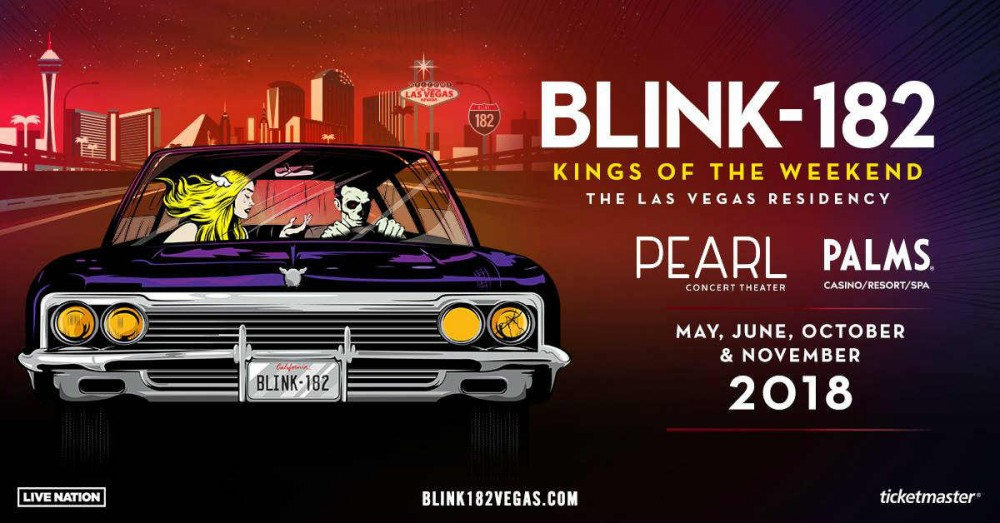 Blink-182 To Take Up Residency In Las Vegas