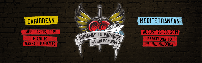 image for event Runaway to Paradise with Jon Bon Jovi
