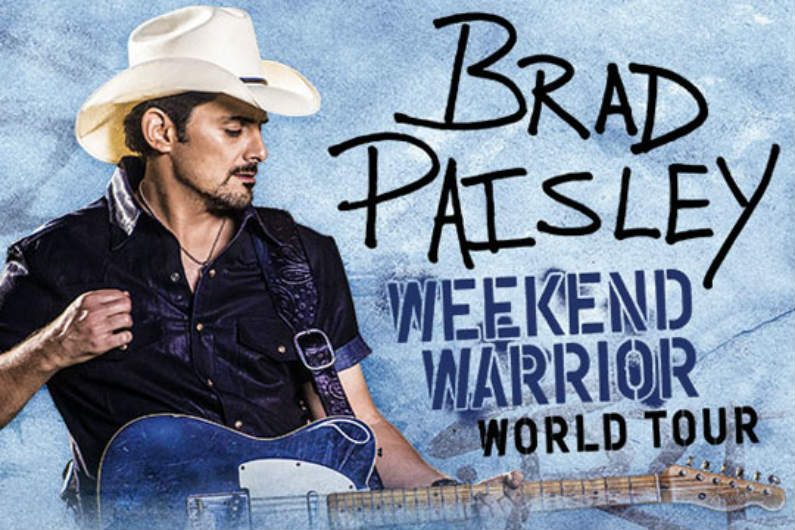 image for article Brad Paisley Adds 2019 World Tour Dates: Ticket On-Sale Info
