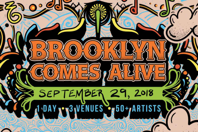 image for article Brooklyn Comes Alive Music Festival Sets Artist Lineups and Schedule for September 29, 2018