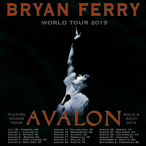image for article Bryan Ferry Extends 2019 Tour Dates: Ticket Presale Code & On-Sale Info