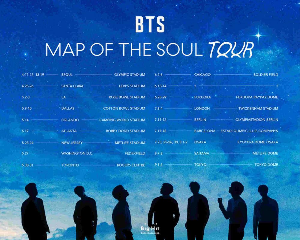 Bts Share 2020 Tour Dates Ticket Presale On Sale Info Zumic