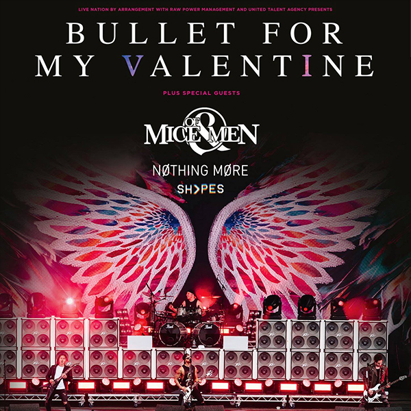 image for event Bullet for My Valentine with Of Mice & Men, Nothing More, and SHVPES