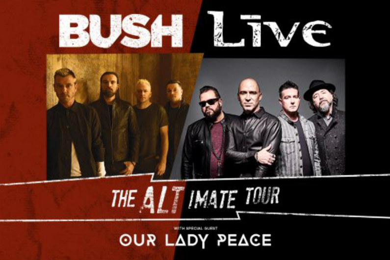image for event Bush, Live, and Our Lady Peace