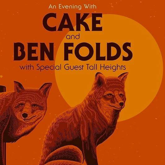 image for event Cake, Ben Folds, and Tall Heights