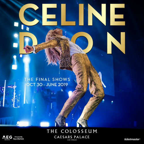 image for article Celine Dion Extends 2018-2019 Las Vegas Residency: Ticket Presale Code & On-Sale Info