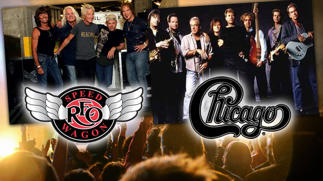 image for event REO Speedwagon and Chicago