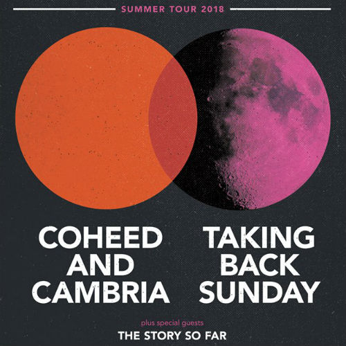 image for event Coheed and Cambria, Taking Back Sunday, and The Story So Far