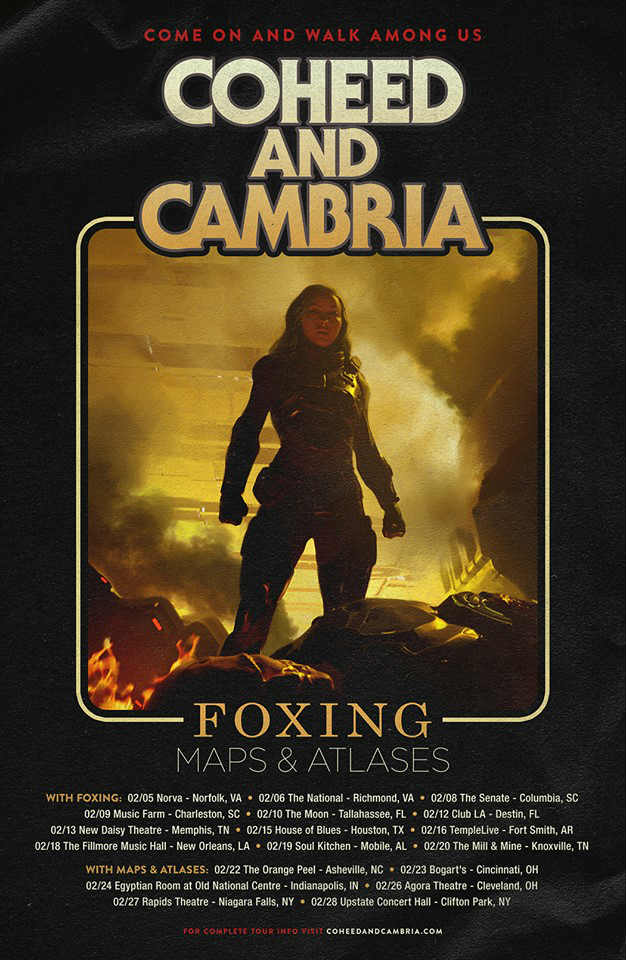 image for event Coheed and Cambria and Chon