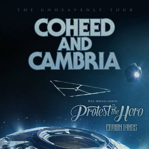 image for article Coheed And Cambria Plot 2018 Tour Dates: Ticket Presale Code & On-Sale Info