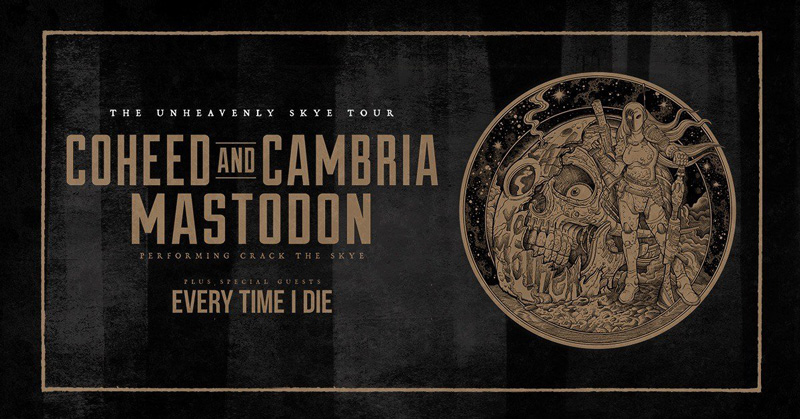 image for article Coheed and Cambria & Mastodon Co-Headlining 2019 Tour Dates: Ticket Presale Code & On-Sale Info