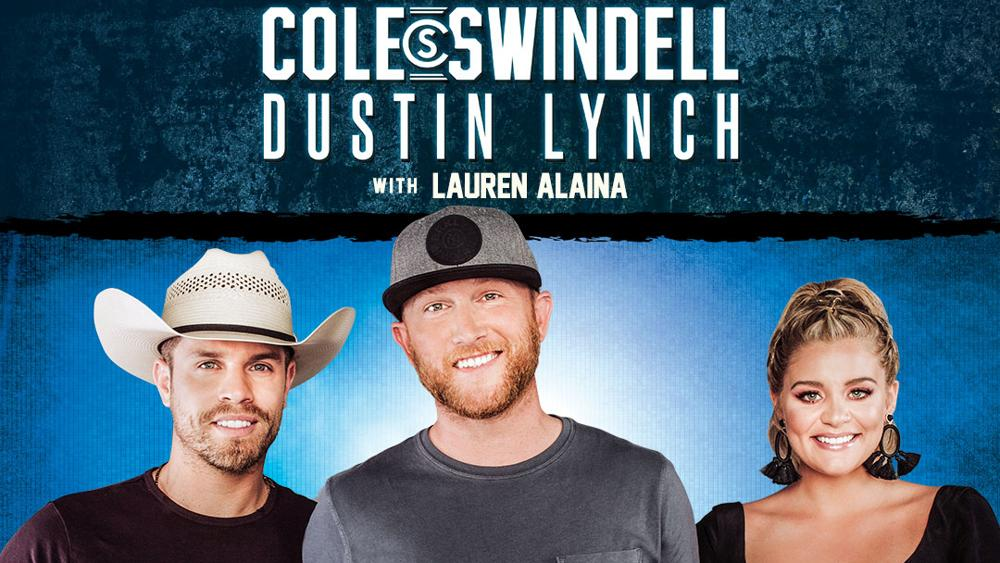 image for event Lauren Alaina, Dustin Lynch, and Cole Swindell