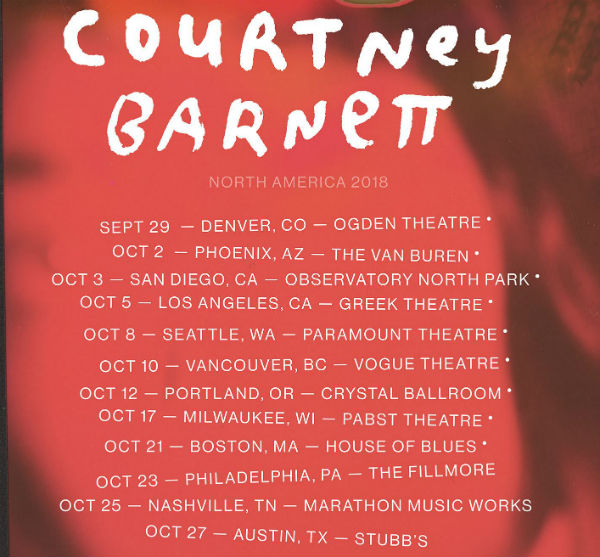 image for event Courtney Barnett and Waxahatchee