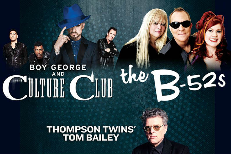 image for article Culture Club and The B-52's Plan 2018 Tour Dates: Ticket Presale Code & On-Sale Info