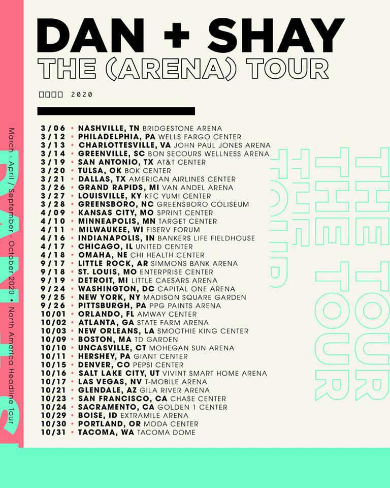 2020 Warped Tour Lineup.Dan And Shay Tour Dates 2020 Tour 2020 Infiniteradio