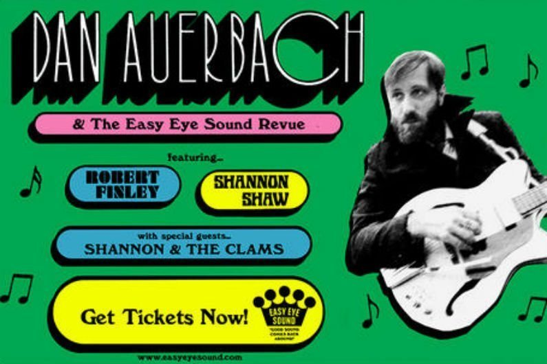 image for article Dan Auerbach & The Easy Eye Sound Revue 2018 Tour Dates Announced: Ticket Presale Code & On-Sale Info