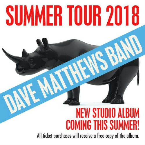 image for article Dave Matthews Band Announces 2018 Tour Dates: Ticket Presale Code & On-Sale Info