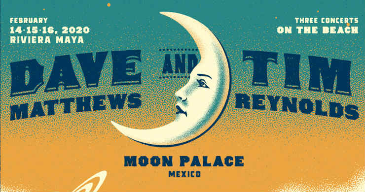 Dave Matthews Tim Reynolds Tour 2020 Dave Matthews and Tim Reynolds at Moon Palace Arena, Mexico on 14