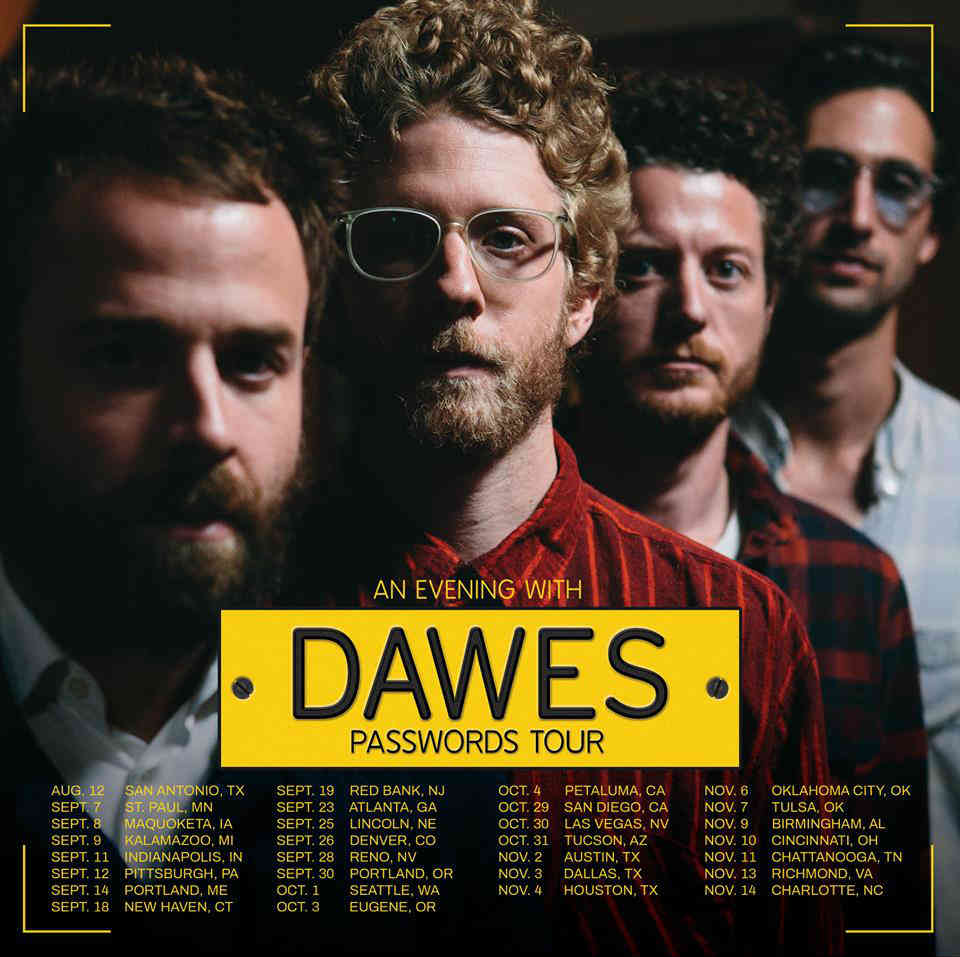 image for article Dawes Reveal 2018 Tour Dates: Ticket Presale Code & On-Sale Info
