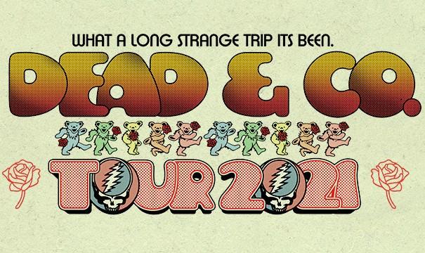 image for event Dead & Company, Bobby Weir, John Mayer, Jeff Chimenti, Bill Kreutzmann, Mickey Hart, and Oteil Burbridge