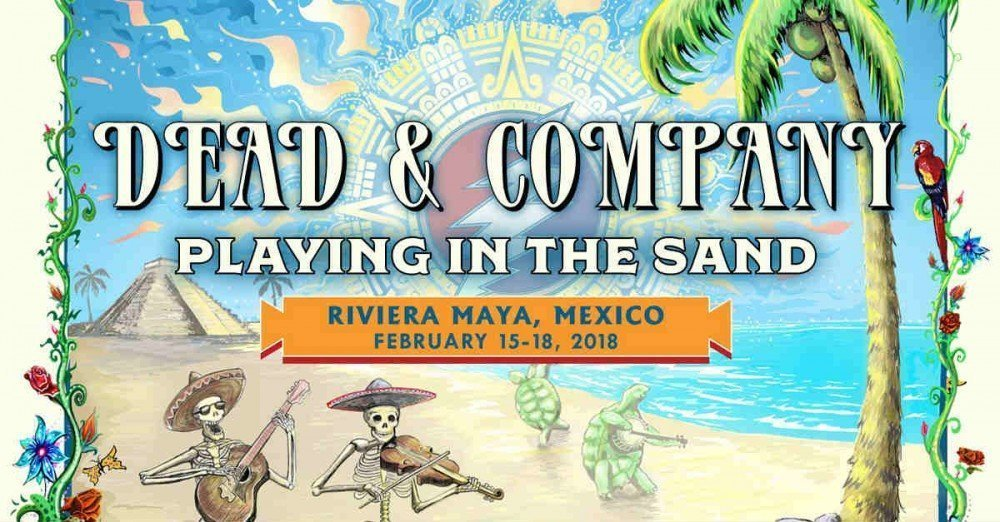 image for event Dead & Company's Playing in the Sand 2018
