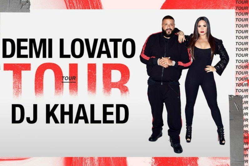 image for article Demi Lovato and DJ Khaled Plot 2018 Tour Dates for North America: Ticket Presale Code & On-Sale Info