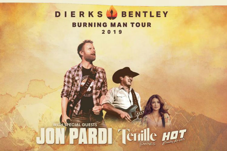 image for article Dierks Bentley Plans 2019 Tour Dates: Ticket Presale Code & On-Sale Info