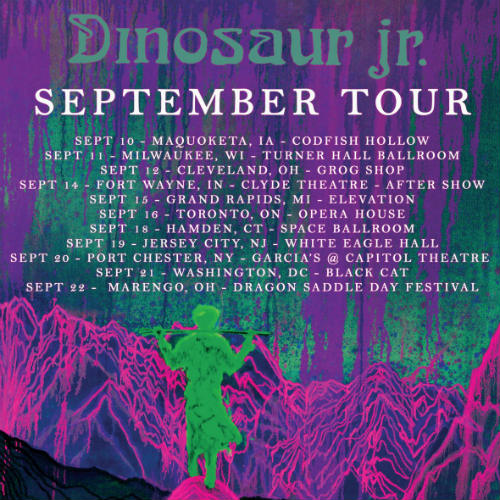image for article Dinosaur Jr. Plans 2018 Tour Dates: Tickets Now On Sale