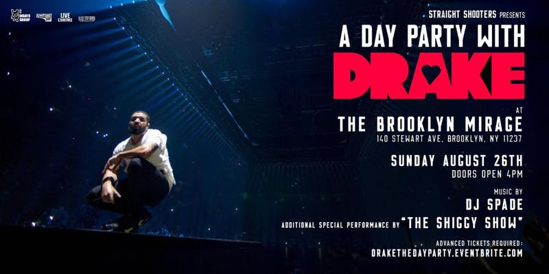 image for event A Day Party with Drake