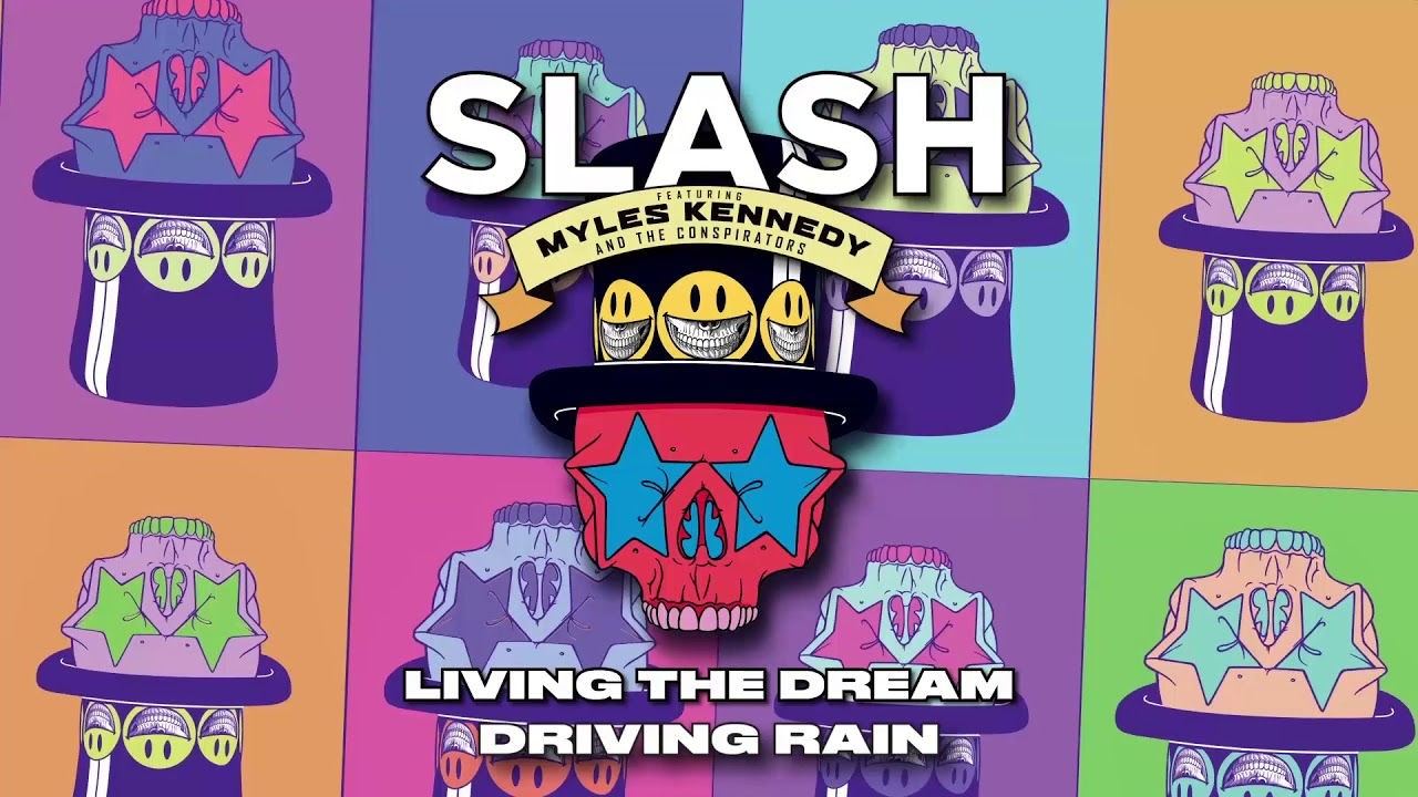 "image for article ""Driving Rain"" - Slash ft Myles Kennedy & The Conspirators [YouTube Audio Single]"