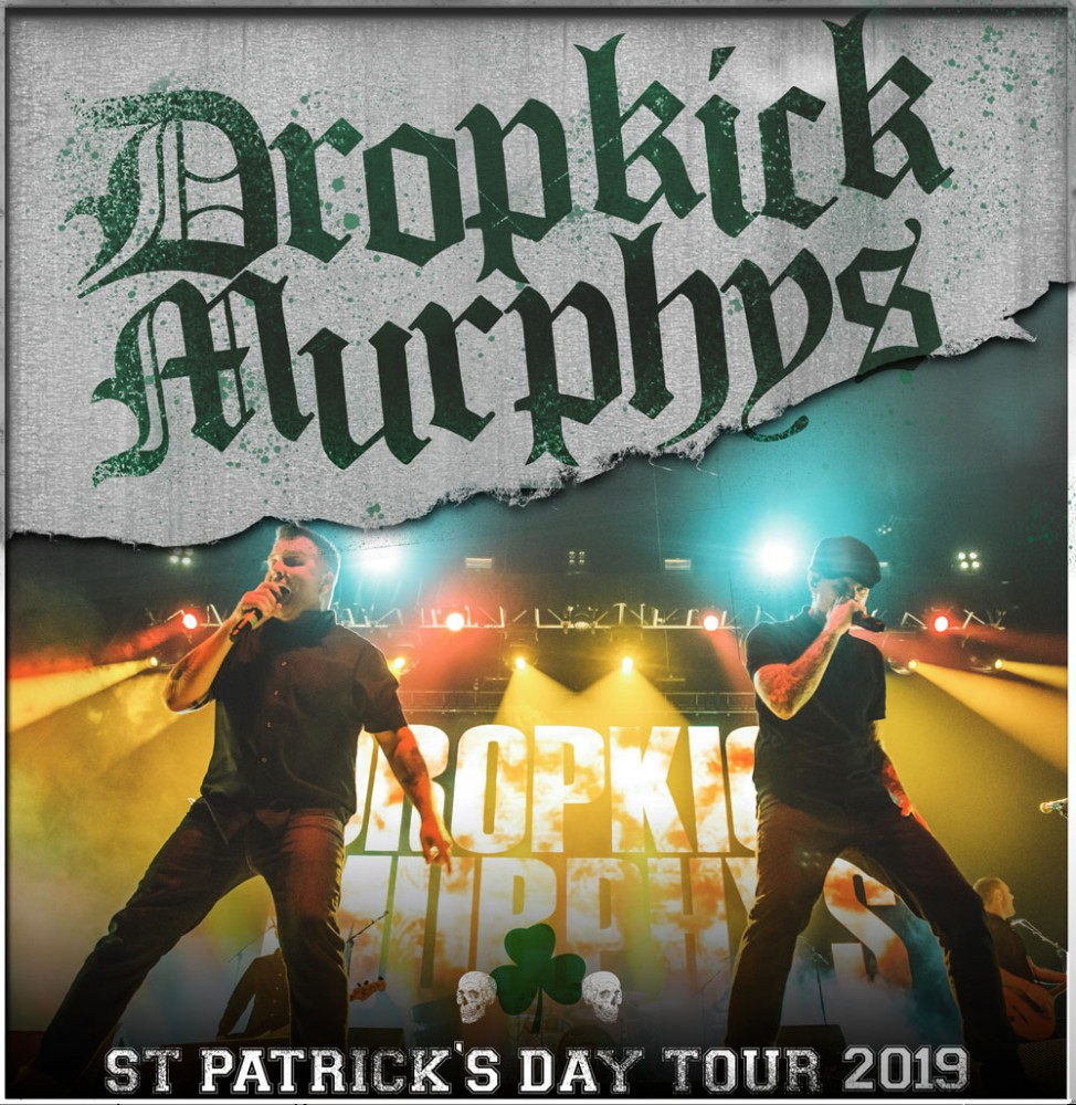 image for article Dropkick Murphy Add 2019 Tour Dates: Ticket Presale Code & On Sale Info