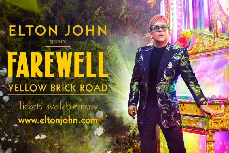 image for article Elton John Reveals 'Farewell Yellow Brick Road' Tour Dates: Ticket Presale Code & On-Sale Info