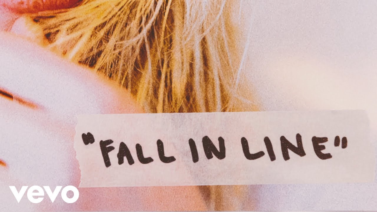 "image for article ""Fall in Line"" - Christina Aguilera ft Demi Lovato [YouTube Lyric Video]"