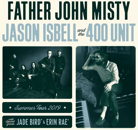 image for article Father John Misty and Jason Isbell Set 2019 Tour Dates: Ticket Presale Code & On-Sale Info