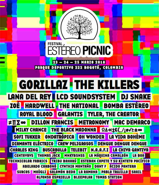image for event Festival Estéreo Picnic 2018