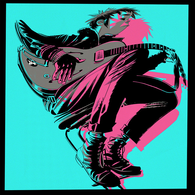 "image for article ""Fire Flies"" - Gorillaz [YouTube Audio Single + Visualizer]"