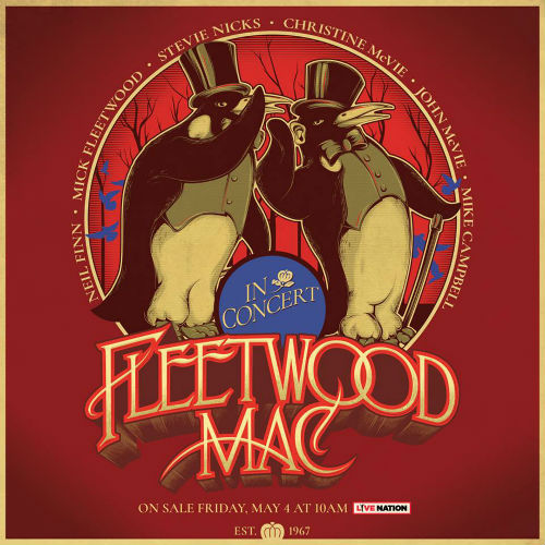 image for article Fleetwood Mac Share 2018-2019 Tour Dates: Ticket Presale Code & On-Sale Info