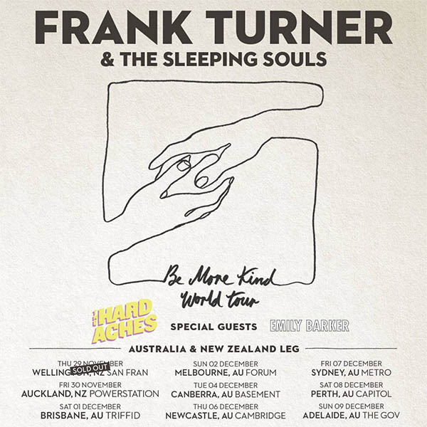 image for event Frank Turner & The Sleeping Souls