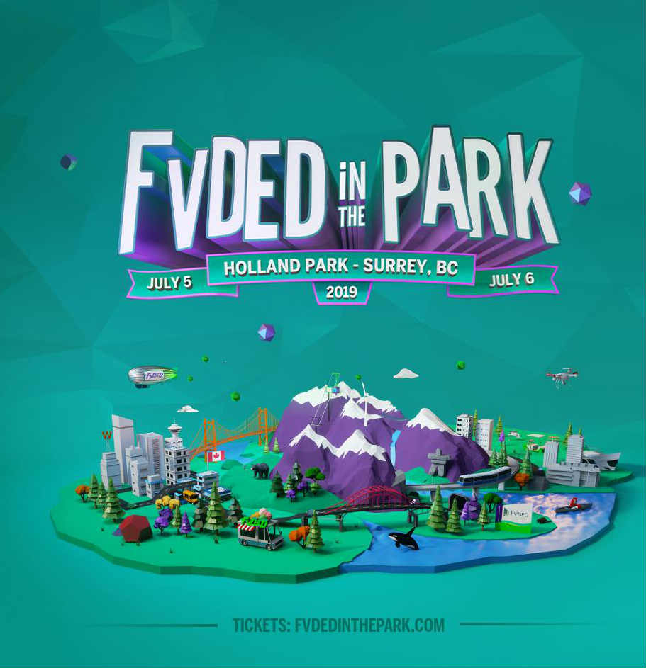 Fvded In The Park Music Festival at Surrey, GB on 5 Jul 2019