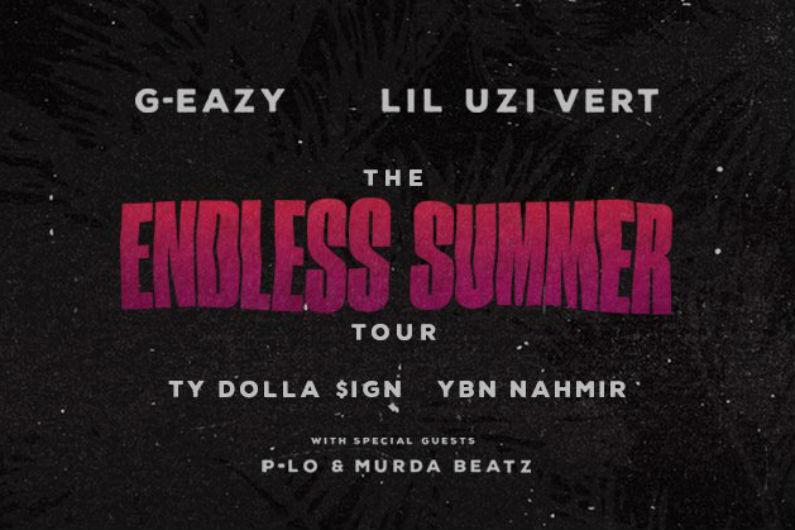 G eazy tour dates in Australia